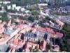 Letecký pohled na město Cheb