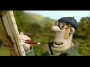 Ovečka Shaun - Malování